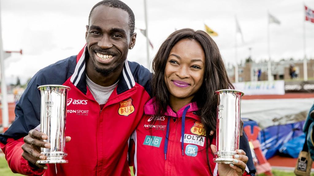 BEST: Ezinne Okparaebo og Jaysuma Saidy Ndure.