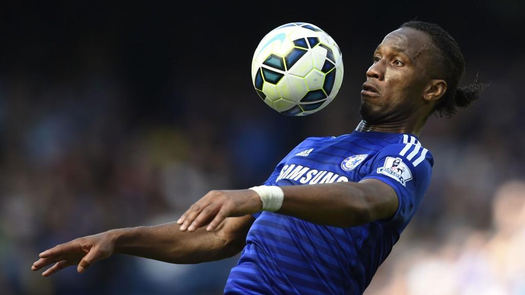 SISTE KAMP: Didier Drogba forlater Chelsea etter årets sesong.