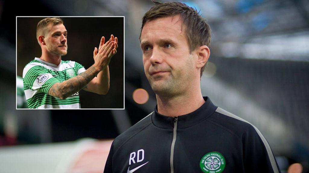 FORLATER CELTIC: John Guidetti forlenger ikke oppholdet hos Ronny Deilas Celtic.