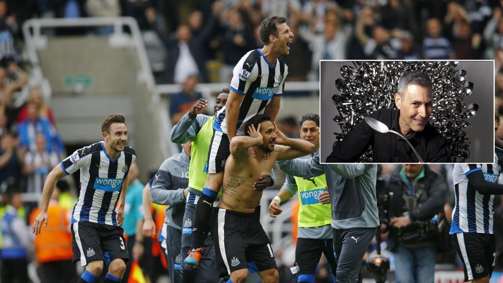 HJELP? Uri Geller hevder han hjalp Newcastle til å unngå nedrykk.