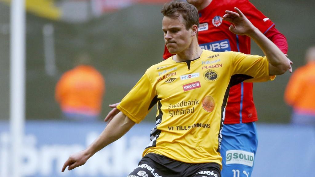 TILBAKE: Imponerende spill for Elfsborg har gjort at Henning Hauger er tilbake i landslagsvarmen.