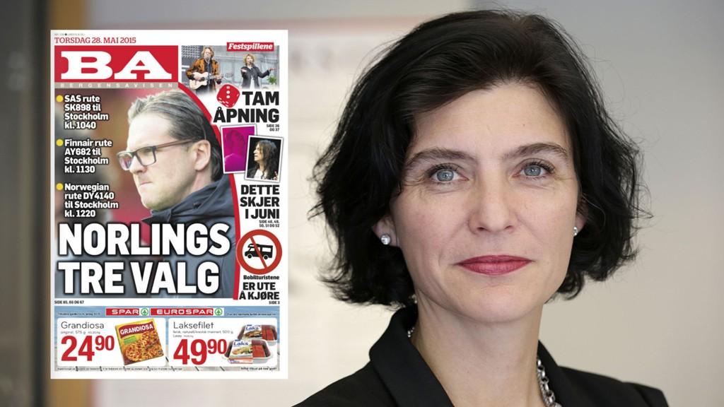 Generalsekretær i Norsk Presseforbund bekrefter at de har mottatt klage på torsdagens BA-forside.
