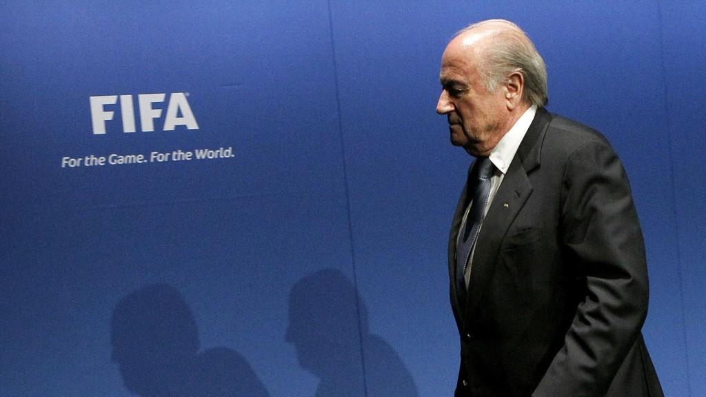 UNDER PRESS: Sepp Blatter.