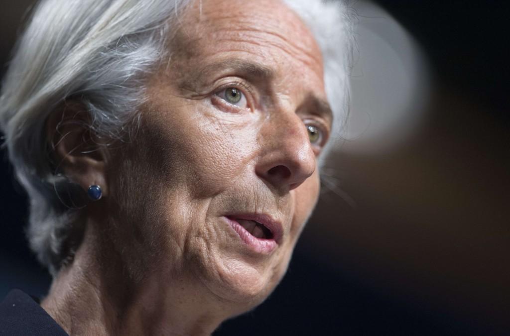IMF-sjef Christine Lagarde sier Hellas kan komme til å forlate eurosonen.