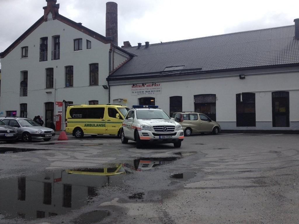 En maskert mann ranet en butikk i Skien torsdag kveld.
