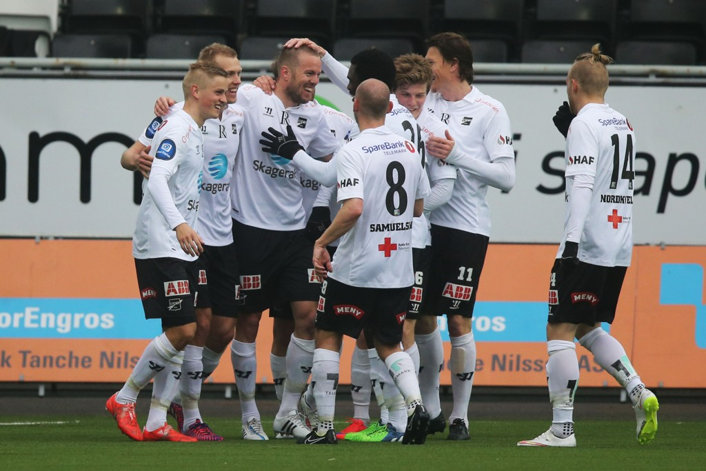 Odd har aldri tapt en tippeligakamp på hjemmebane mot Aalesund.
