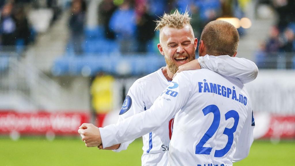 Christian Gytkjær har scoret fem mål på de siste fire kampene Haugesund har spilt mot Start.