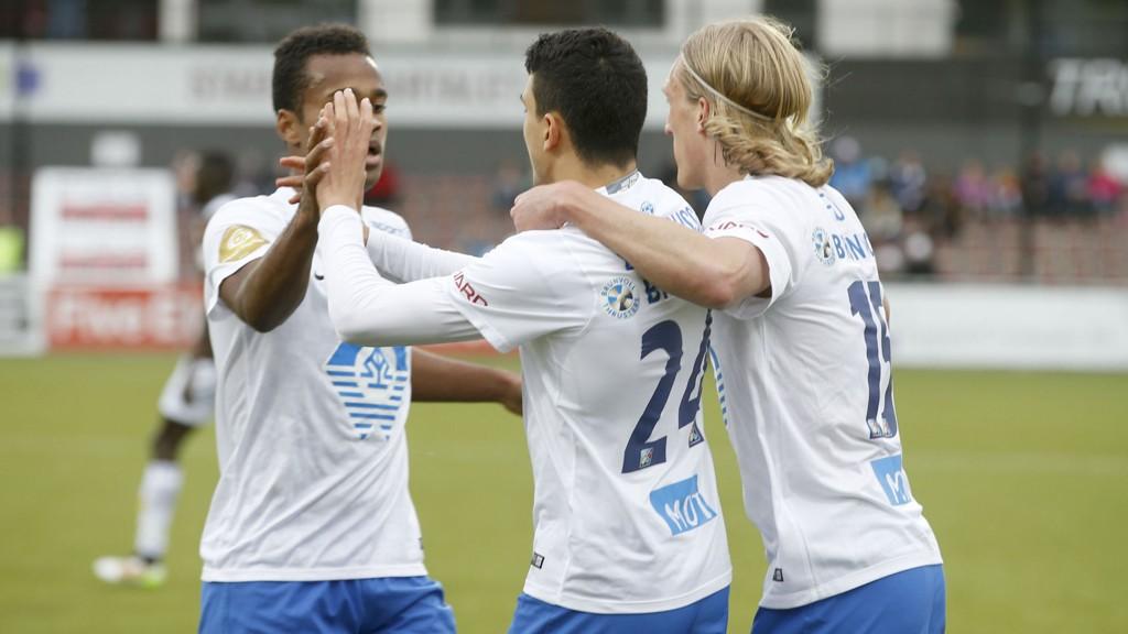 Mohamed Elyounoussi og de andre Molde-angriperne er i flott scoringsform.