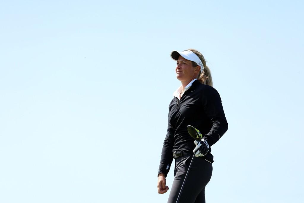 ALENE I TET: Suzann «Tutta» Pettersen er alene i tet før siste dag av Manulife LPGA Classic i Ontario, Canada.