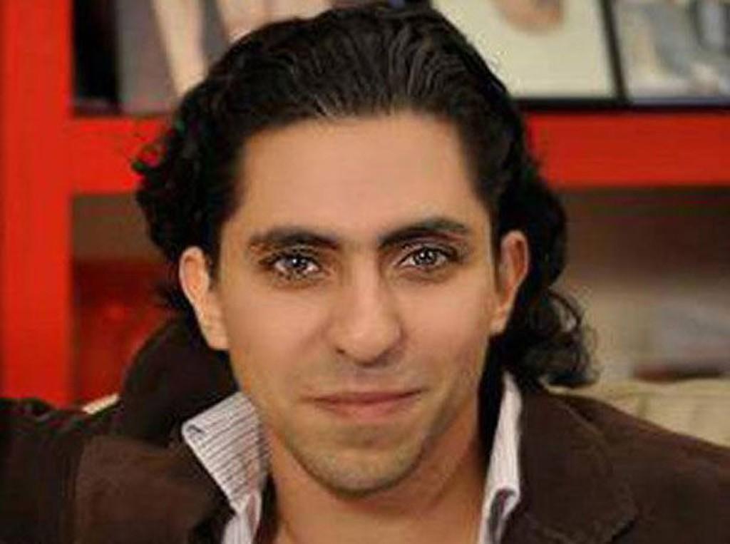 Den saudi-arabiske bloggeren Raif Badawi.