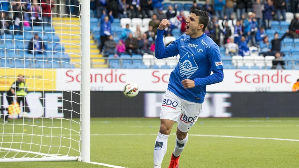 INN I VARMEN: Mohamed Elyounoussi og Odds Steffen Hagen er innkalt til Norges landskamper mot Sverige og Aserbajdsjan.