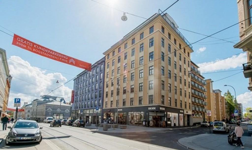 STIV PRIS: Leiligheten i 7. etasje har vestvendt balkong, separat soverom og ligger sentralt i Oslo.