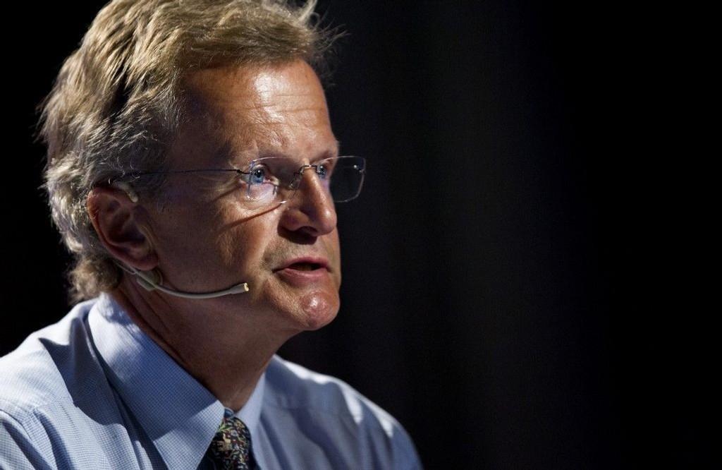 FLY PÅ VENT: Telenor-topp Jon Fredrik Baksaas er i særstilling i Norge med et privatjet i beredskap på Gardermoen.