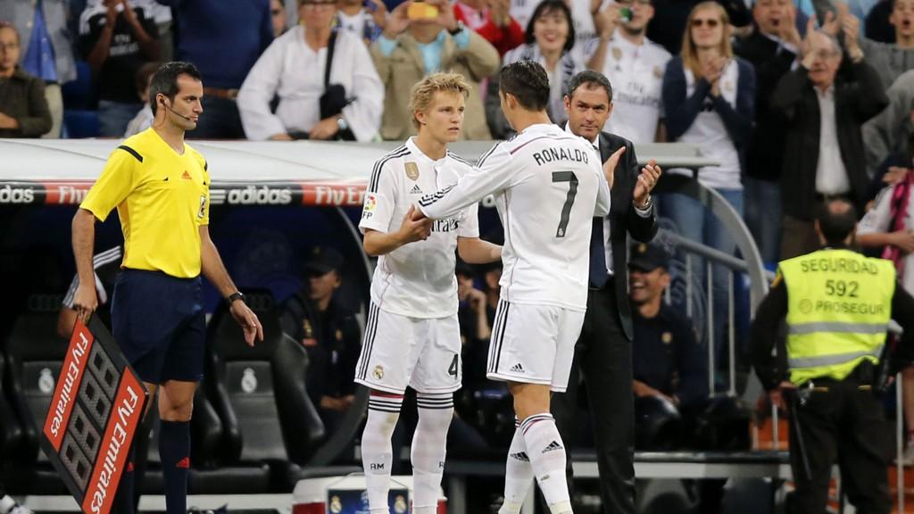 LÅNES UT? Den spanske avisen AS hevder Martin Ødegaard blit utlånt kommende sesong.