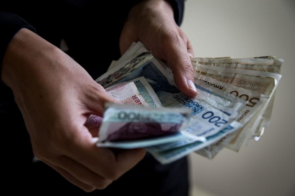 En mann fant en stor bunke penger på gata i Mjøndalen i helgen. Dette bildet er ment som en illustrasjon.