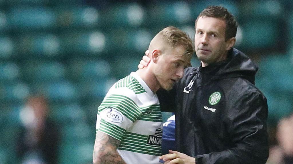 John Guidetti ble frustrert over at Ronny Deila ikke ga ham spilletid fordi svensken ikke ville signere for Celtic.