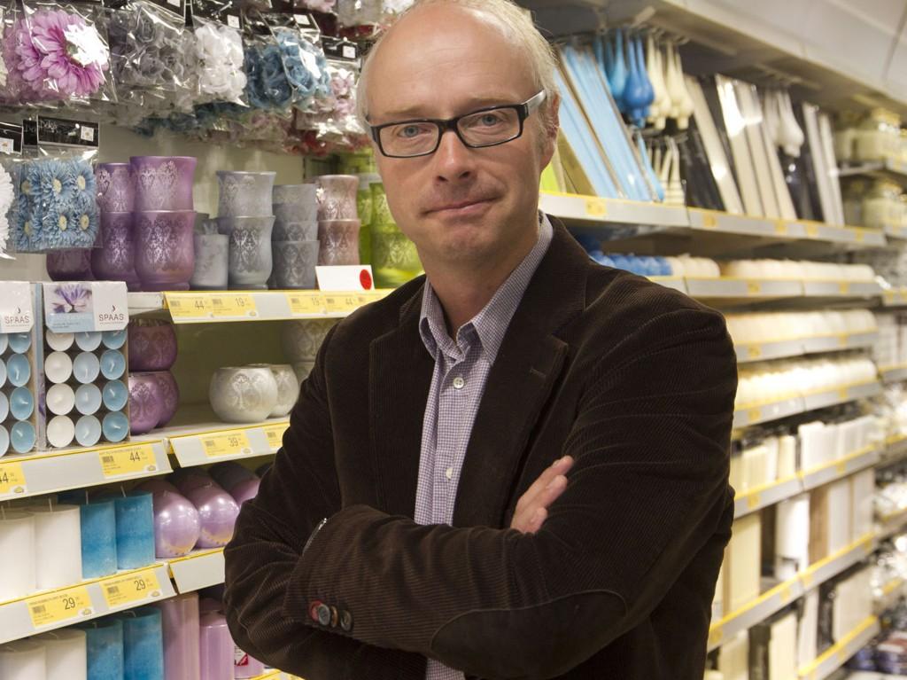 PÅ BØRS?: Europris-sjef Pål Wibe kan tjene gode penger hvis kjeden blir børsnotert. Foto: Scanpix