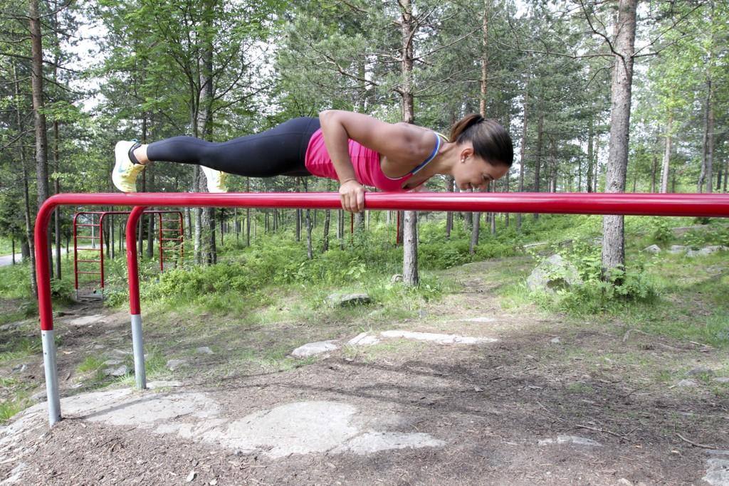 styrke hele kroppen uten vekter