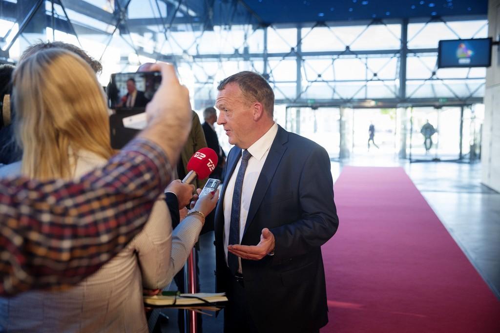 NEGATIVT FOKUS: - Faktisk har Socialdemokraternes kampanje stort sett handlet om meg og Venstre, uttalte en skuffet Lars Løkke Rasmussen onsdag.