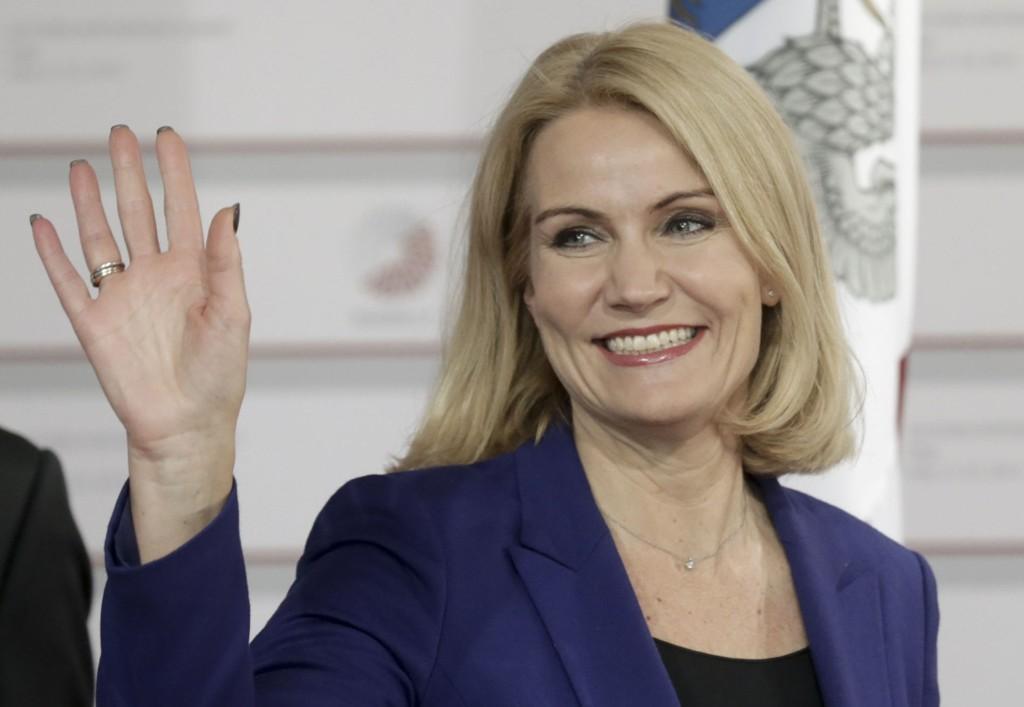 VIL GJENVELGES: Danmarks statsminister Helle Thorning-Schmidt har gått hardt ut i valgkampen.