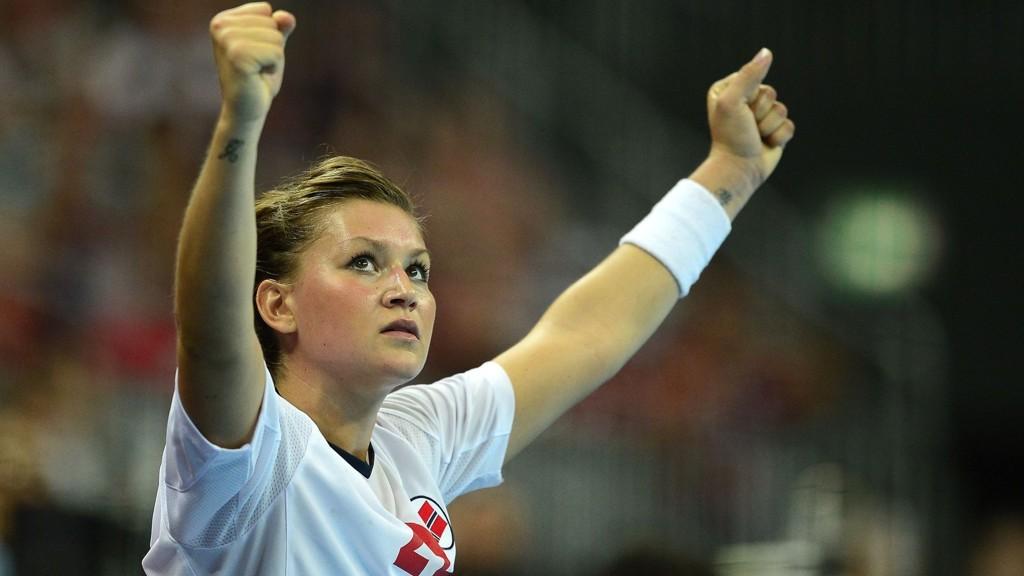 Håndballspilleren Amanda Kurtovic vender tilbake til Larvik etter tre sesonger i Viborg og Oppsal.