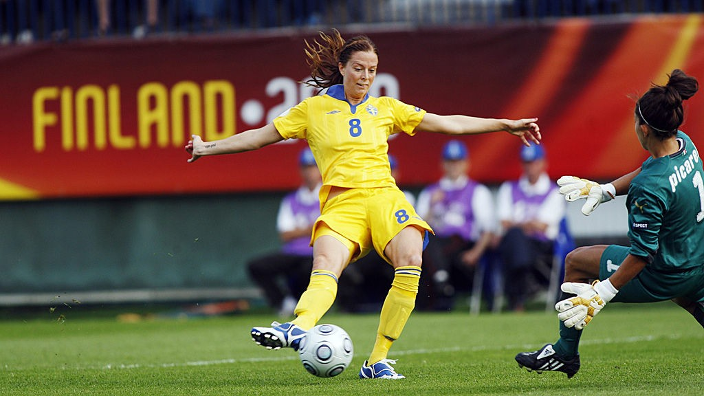 Lotta Schelin har hatt et skuffende VM hittil og må levere varene dersom Sverige skal ha mulighet mot Tyskland.