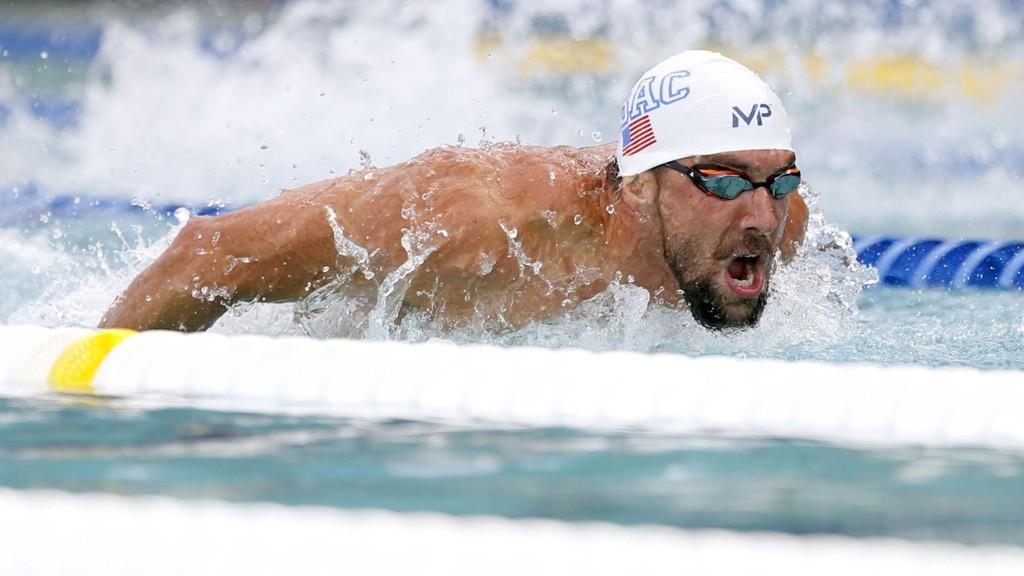 HAR FREMGANG: Michael Phelps har dokumentert form i bassenget i de siste dagene.