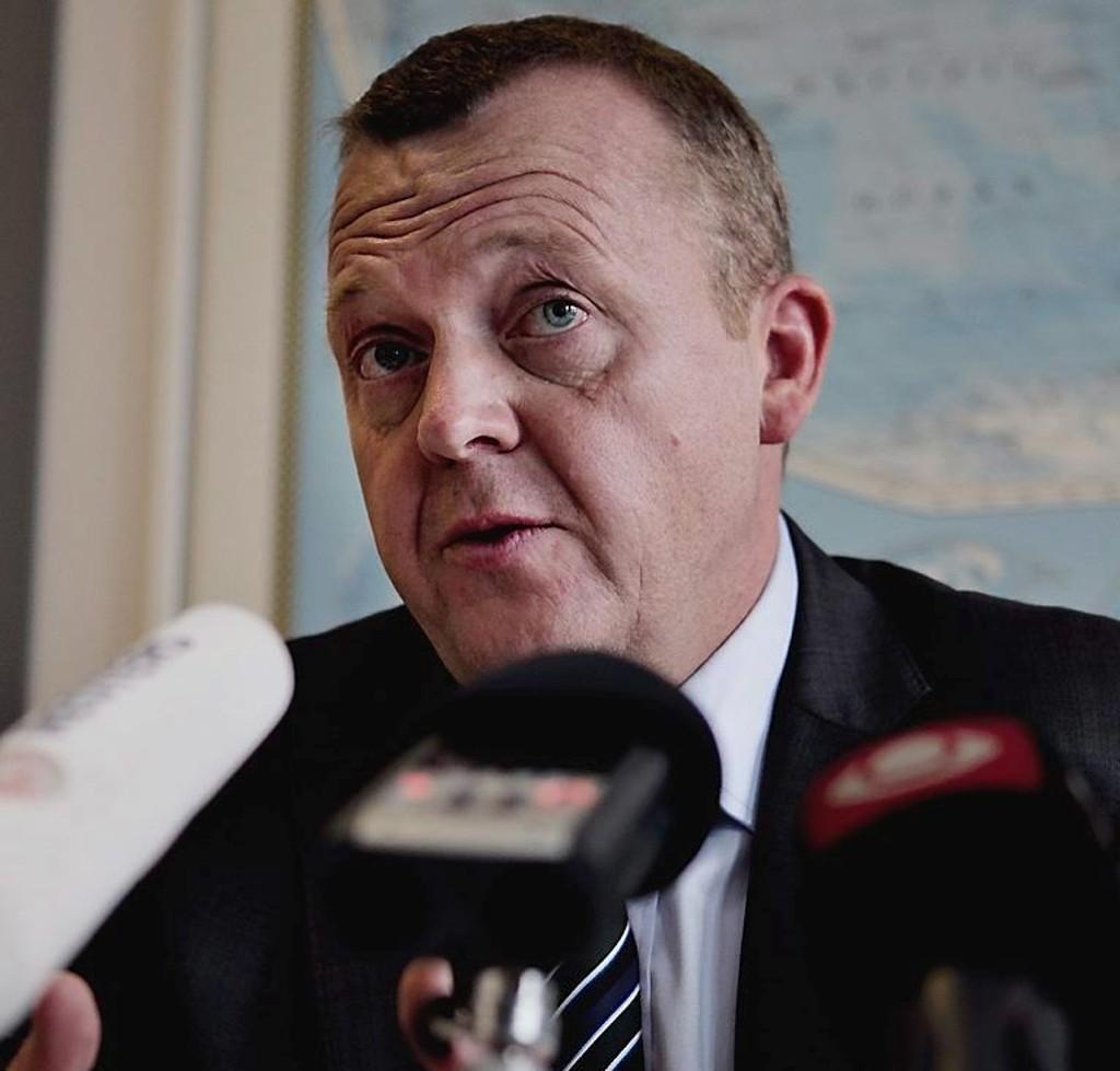 VENSTRE. Partileder Lars Løkke Rasmussen gir opp forsøket på å danne en flertallsregjering i Danmark.
