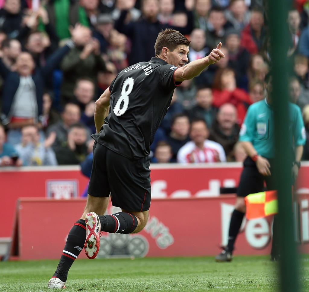 LEGENDE: Tidligere Liverpool-spiller Steven Gerrard.