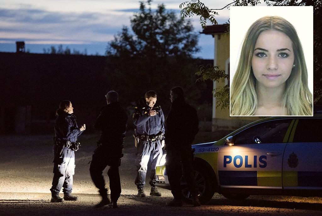 Den 34 år gamle kvinnen og de to litauiske brødrene bodde på gården der Lisa Holm (innfelt) ble funnet drept.