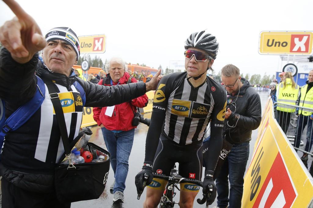 SYKKELHÅP: Edvald Boasson Hagen er et av de store, norske sykkelhåpene under sommerens Tour de France.