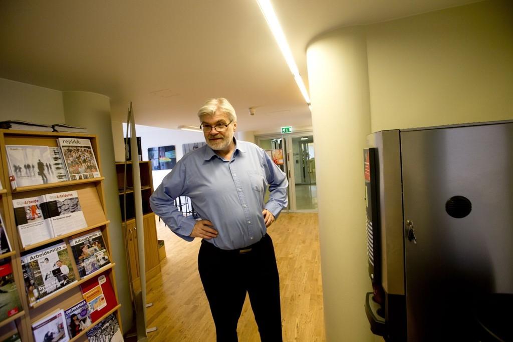 Forbundsleder i Industri og Energi, Leif Sande.