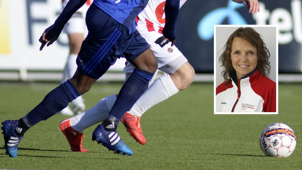 FARLIG: Ernæringsfysiolog på Olympiatoppen Heidi Holmlund sier det kan være direkte farlig å spille fotballkamper for spillere som følger fasten under ramadan på kampdager.