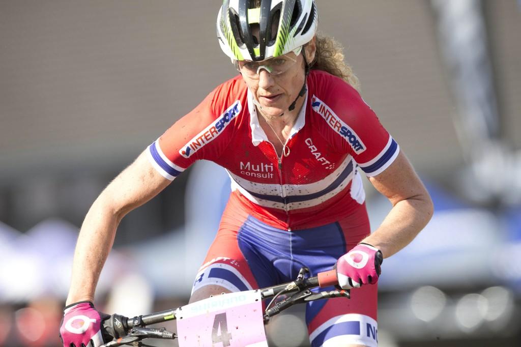 VM-GULL: Gunn-Rita Dahle Flesjå tok VM-gull i terrengsykling lørdag.
