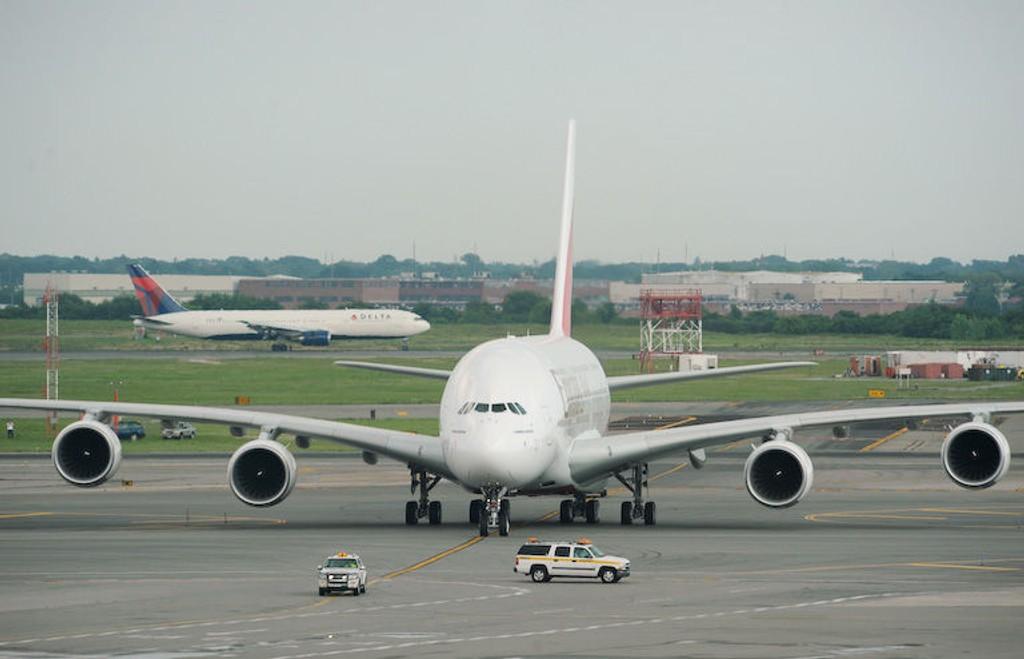 KJEMPE: Verdens største fly har nesten 50 prosent mer gulvareal enn sinn forgjenger.