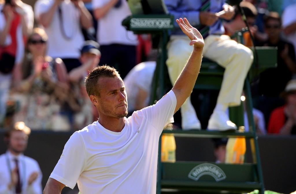 TAPTE: Lleyton Hewitt tapte sin siste Wimbledon-kamp.