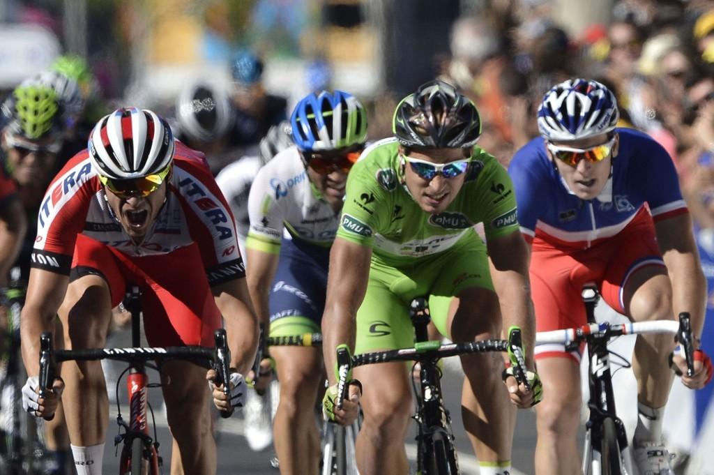 SYKLER: Alexander Kristoff er én av rytterne som sykler årets Tour de France.