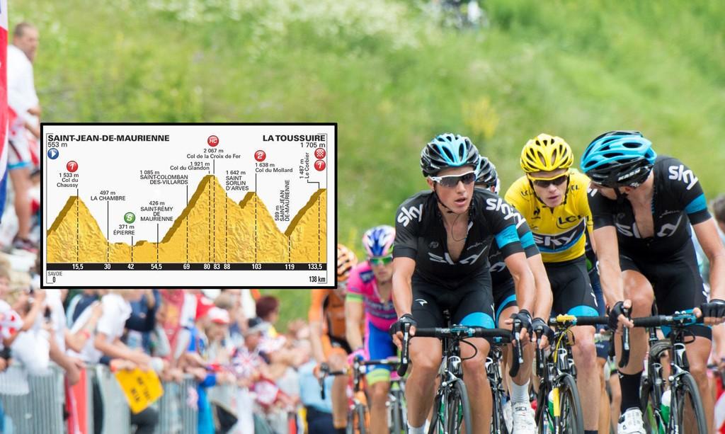 HARD: Årets Tour de France-løype er som skapt for klatrerne.