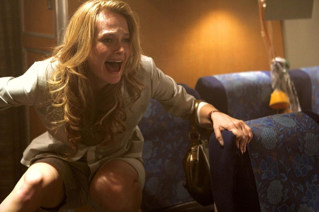 DE FÆRRESTE opplever slike tilstander som denne passasjeren fra filmen «Snakes on a plane».