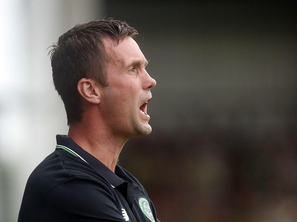 SLAPP INN FEM: Manager Ronny Deila fikk se et Celtic som vakler i forsvarsarbeidet før Champions League-kvalifiseringen.