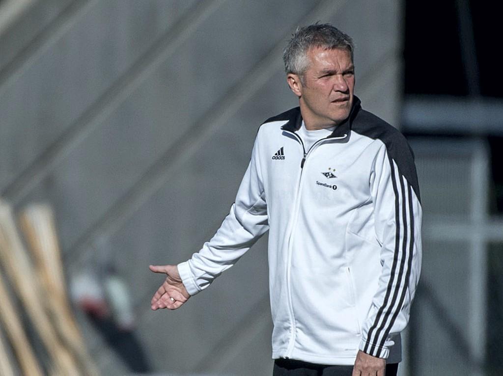 TOMHENDT HJEM: Rosenborg og trener Kåre Ingebrigtsen fikk ikke med seg poeng tilbake fra Bodø.