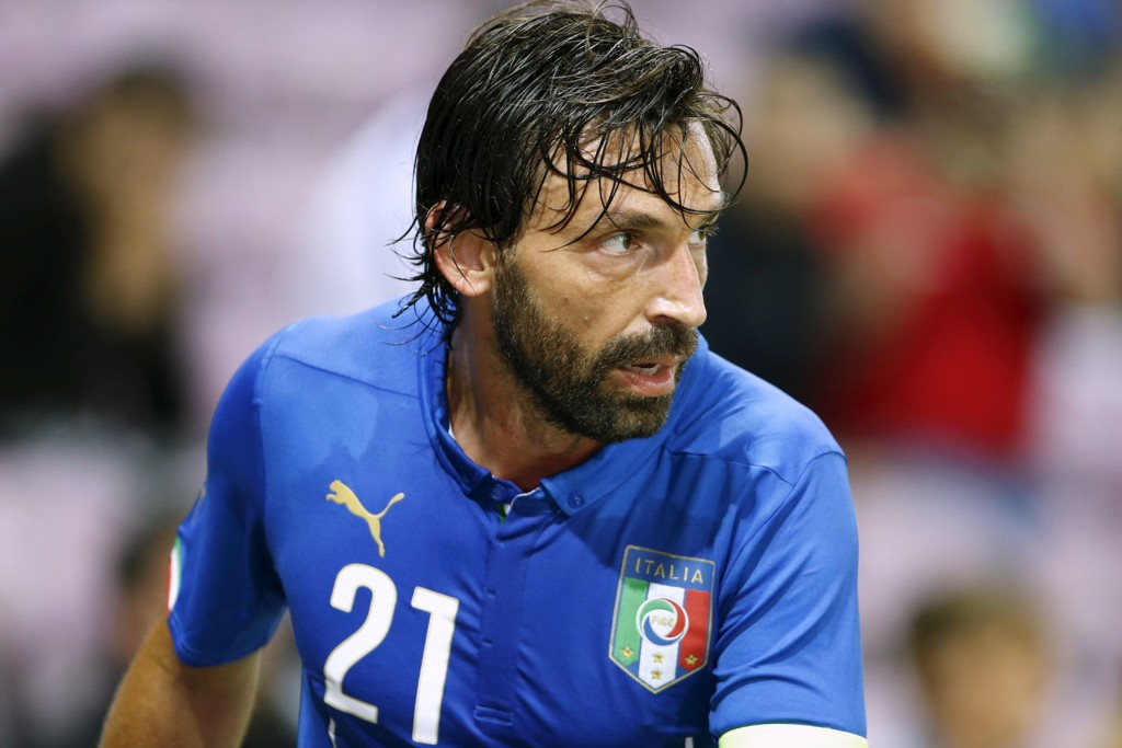 NY KLUBB: Andrea Pirlo er klar for New York City.