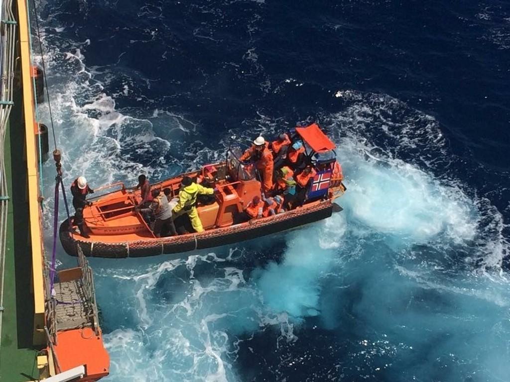 Det norske skipet Siem Pilot reddet i juni over 600 migranter fra to trebåter i Middelhavet.