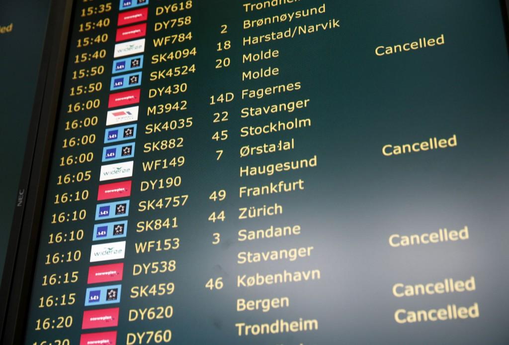 ØKT TRAFIKK: Oslo lufthavn har opplevd en trafikkvekst første halvår.