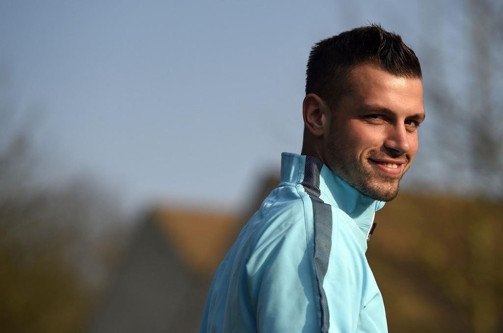 MANCHESTER UNITED: Morgan Schneiderlin skal spille fotball for Louis van Gaal neste sesong.