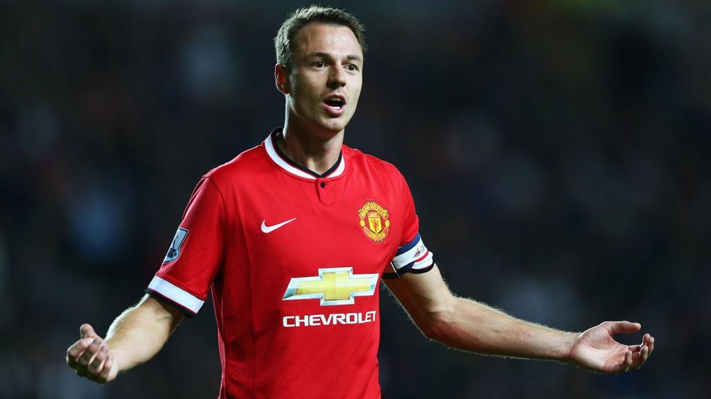 PÅ VEI TIL EVERTON: Ifølge The Guardian er Jonny Evans på vei til Everton fra Manchester United.