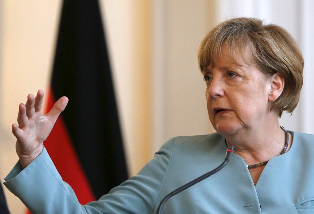 FOR TØFF: Noen mener Tysklands statsminister Angela Merkels var alt for tøff i forhandlingene.