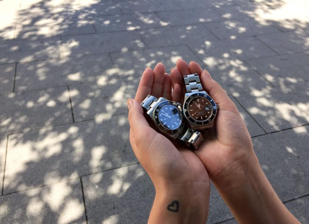 POP: Rolex er av merkene Urmaker Bjerke gjør gode kroner på.