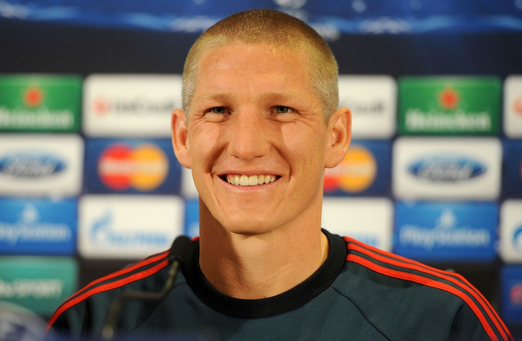 File photo dated 31-03-2014 of Bayern Munich's Bastian Schweinsteiger.