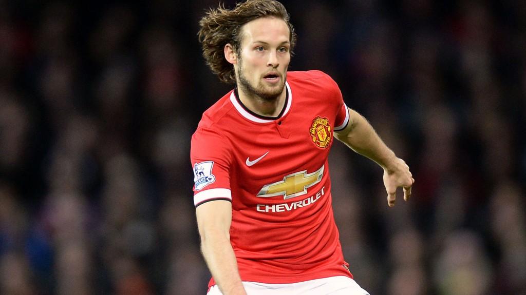 KAN VÆRE LØSNINGEN: Manchester Uniteds Daley Blind kan bli Uniteds løsningen i midtforsvaret.